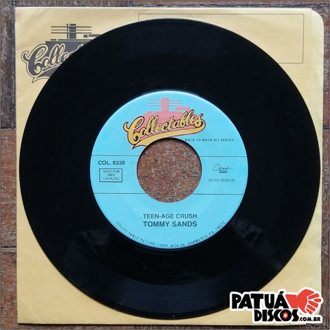 Tommy Sands - Teen-age Crush / Goin' Steady - 7""