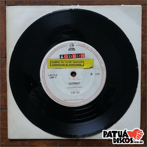 The Beatles - Michelle / Yesterday - 7""