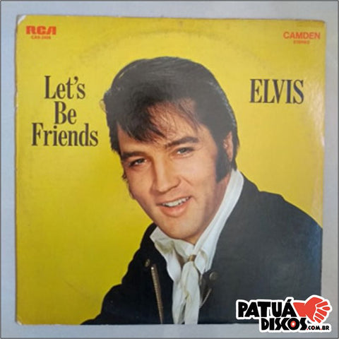 Elvis Presley - Let's be Friends - LP