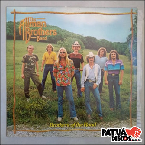 The Allman Brothers Band - Brothers Of The Road - LP