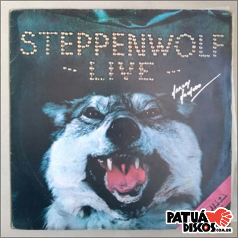 Steppenwolf - Steppenwolf Live - LP