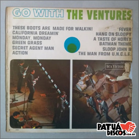 The Ventures - Go With The Ventures - LP