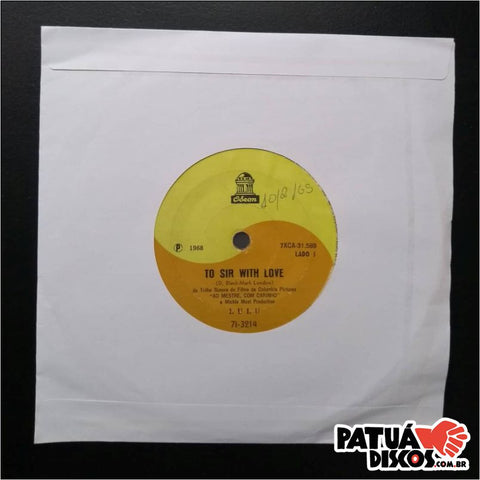 Lulu - To Sir With Love/Love Loves To Love, Love    - 7""