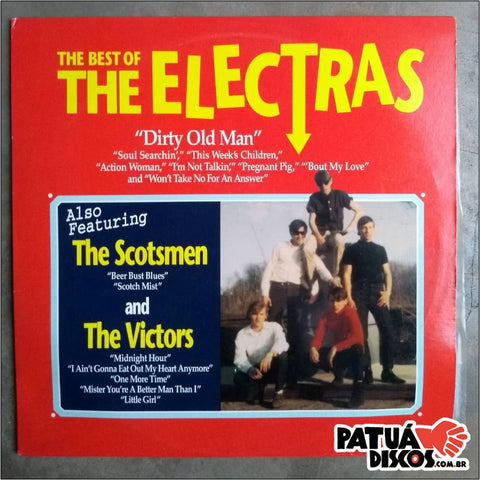 The Electras/ The Scotmen/ The Victors - The Best Of Electras - LP