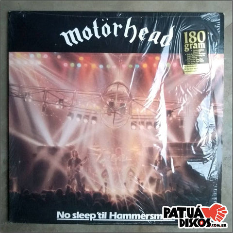 Motorhead - No Sleep'til Hammersmith - LP