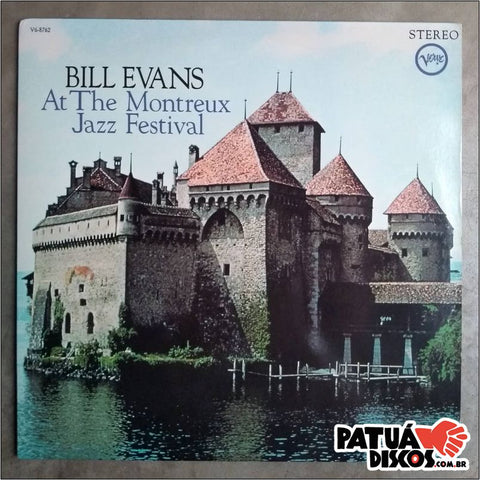 Bill Evans - At The Montreaux Jazz Festival - LP