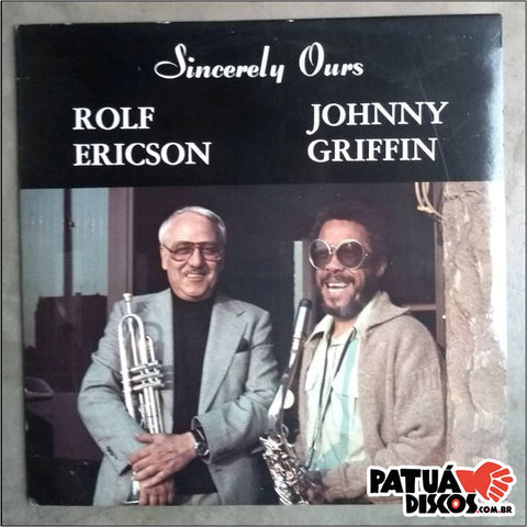 Rolf Ericson & Johnny Griffin - Sincerely Ours - LP
