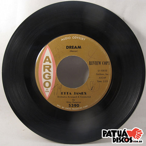Etta James - Fool That I Am /	Dream - 7""