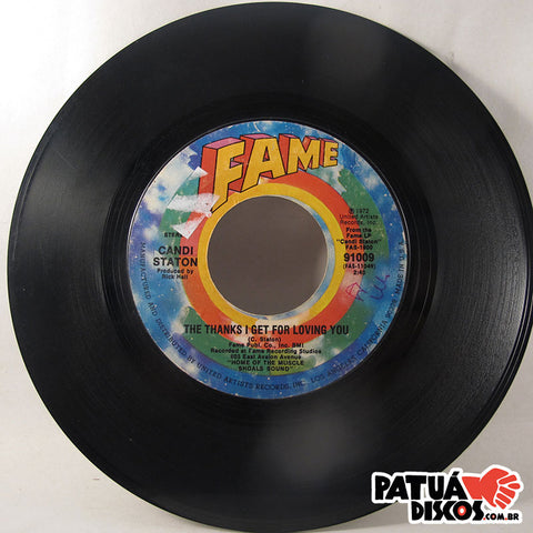Candi Station - Do It In The Name Of Love / The Thanks I Get For Loving You - 7""