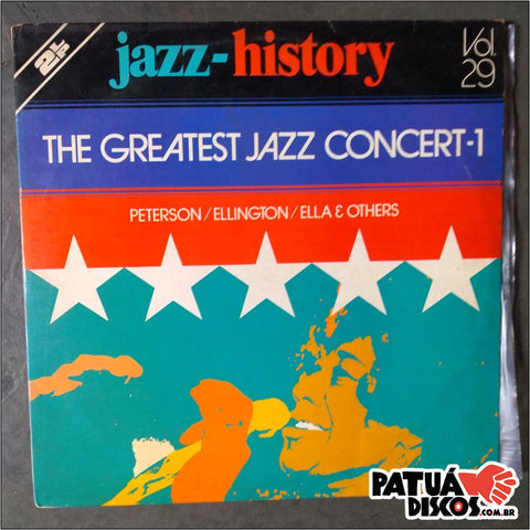 Vários Interpretes - Jazz-History The Greatest Jazz Concert - 1 - LP Duplo