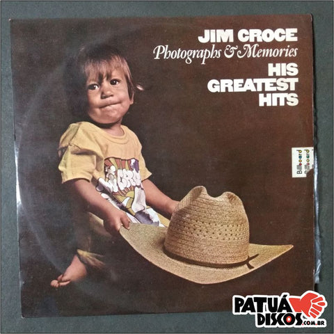 Jim Croce - Photographs & Memories His Greatest Hits - LP
