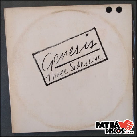 Genesis - Three Sides Live - LP Duplo