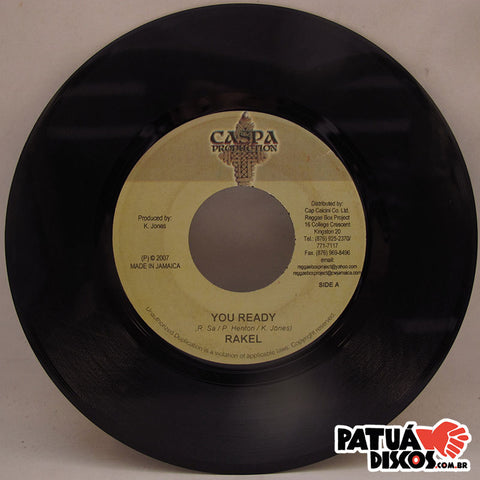 Rakel - You Ready / Eagle Eye Version - 7""