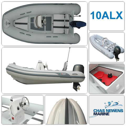 AB Inflatables Alumina 10 ALX Luxury 10ft RIB Packages - Please Select a Package