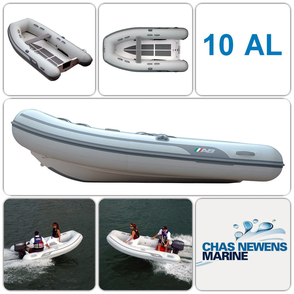 AB Inflatables Lammina 10 AL Aluminium 10ft RIB Dinghy - WITHOUT Bow Locker