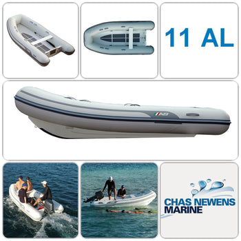 AB Inflatables Lammina 11 AL  Aluminium 11ft RIB Dinghy - WITHOUT Bow Locker