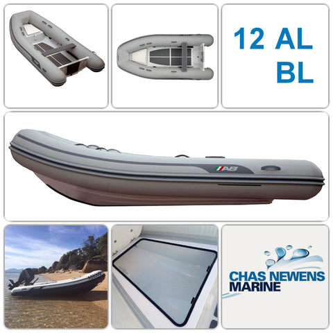 AB Inflatables Lammina 12 AL BL Aluminium 12ft RIB Dinghy - WITH Bow Locker