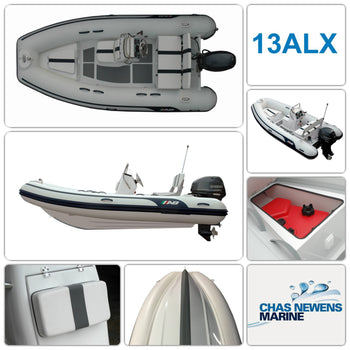 AB Inflatables Alumina 13 ALX Luxury 13ft RIB Packages - Please Select a Package