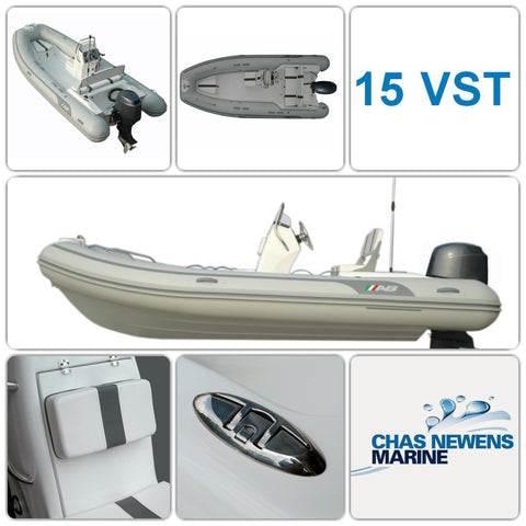 AB Inflatables Oceanus 15 VST 15ft RIB Packages - Please Select a Package