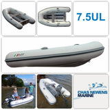 AB Inflatables Lammina 7.5 UL 7.5 ft Aluminium RIB Tender