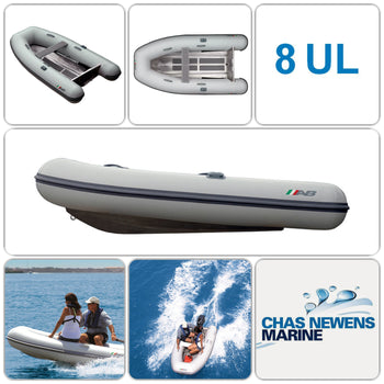 AB Inflatables Lammina 8 UL 8 ft Aluminium RIB Tender