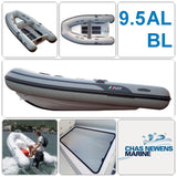 AB Inflatables Lammina 9.5 AL BL 9.5ft RIB Dinghy - WITH Bow Locker