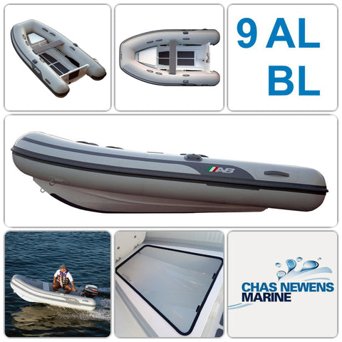 AB Inflatables Lammina 9 AL BL 9ft RIB Dinghy WITH Bow Locker - WITH Bow Locker