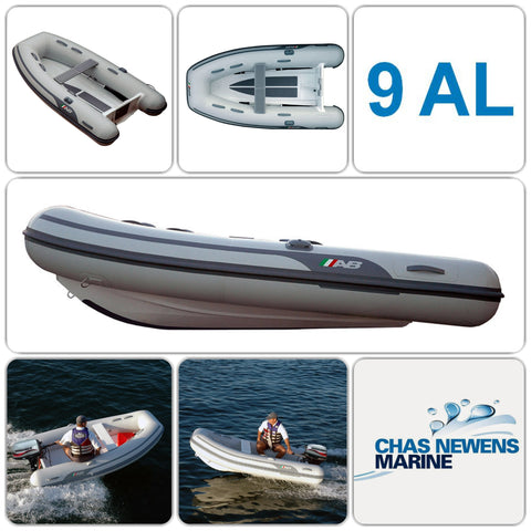 AB Inflatables Lammina 9 AL 9ft Aluminium RIB Dinghy Tender - WITHOUT Bow Locker