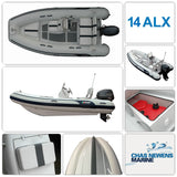 AB Inflatables Alumina 14 ALX Luxury 14ft RIB Packages - Please Select a Package