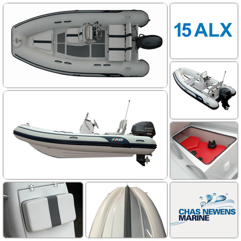 AB Inflatables Alumina 15 ALX Luxury 15ft RIB Packages - Please Select a Package