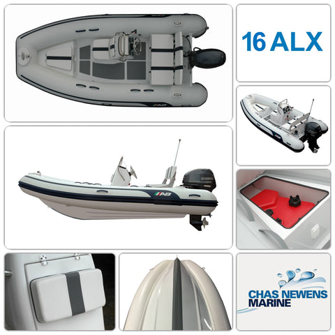 AB Inflatables Alumina 16 ALX Luxury 16ft RIB Packages - Please Select a Package