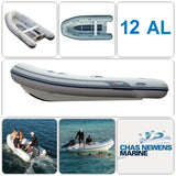 AB Inflatables Lammina 12 AL  Aluminium 12ft RIB Dinghy - WITHOUT Bow Locker