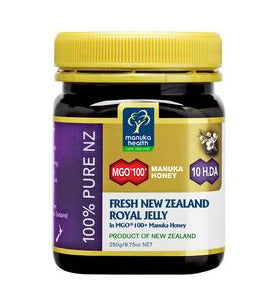 Fresh Royal Jelly in MGO™ 100+ Manuka Honey