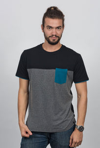 Camiseta Color Block