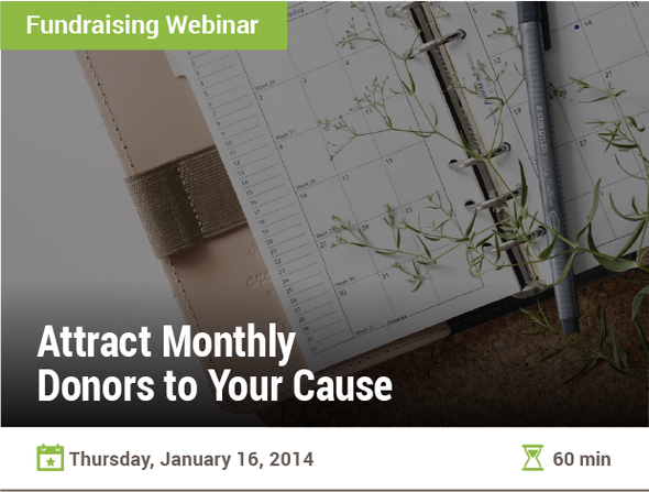 Attract Monthly Donors to Your Cause