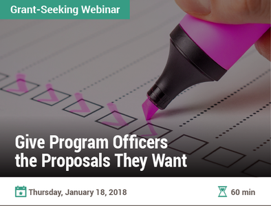 Give Program Officers The Proposals They Want