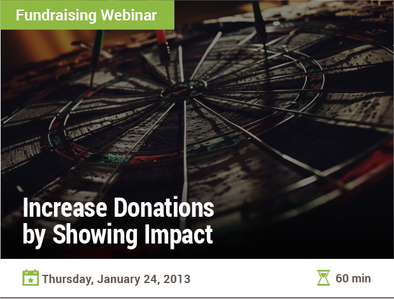 Increase Donations by Showing Impact