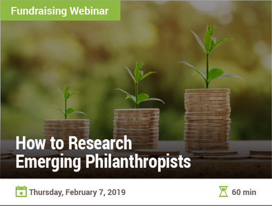 How to Research Emerging Philanthropists