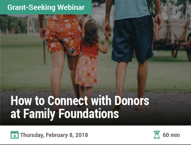 How to Connect with Donors at Family Foundations