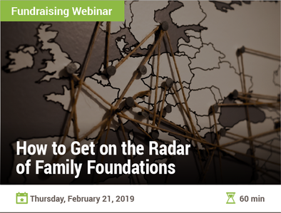 How to Get on the Radar of Family Foundations