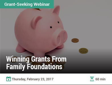Winning Grants From Family Foundations