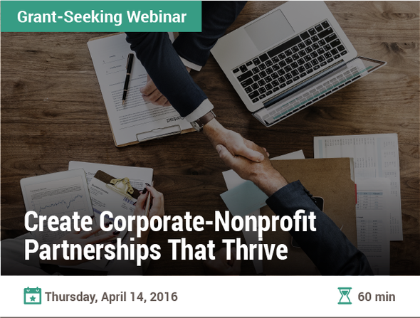 Create Corporate-Nonprofit Partnerships That Thrive