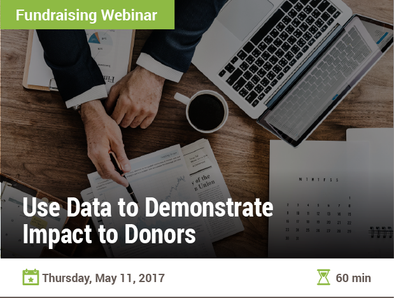Use Data to Demonstrate Impact to Donors