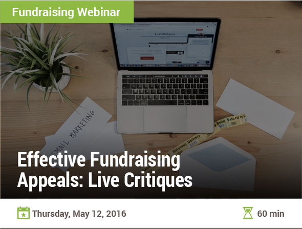Effective Fundraising Appeals: Live Critiques