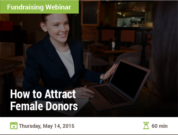 How to Attract Female Donors