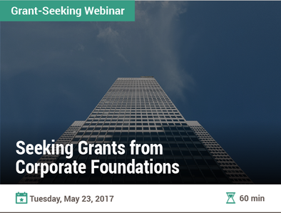 Seeking Grants from Corporate Foundations