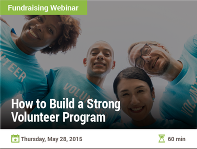 How to Build a Strong Volunteer Program