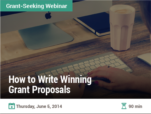 How to Write Winning Grant Proposals