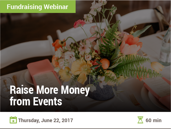 Raise More Money from Events