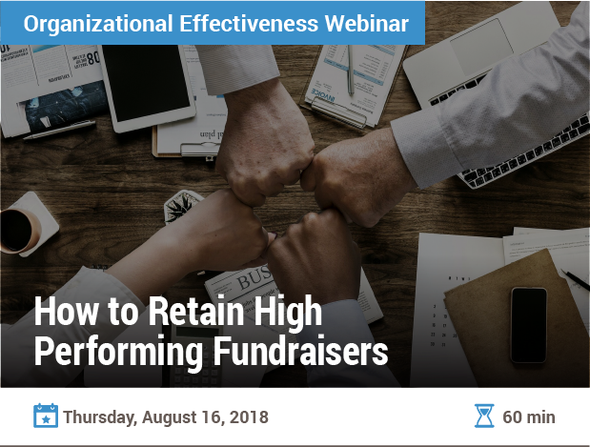 How to Retain High-Performing Fundraisers